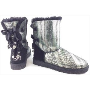 UGG bailey bling bow short boots